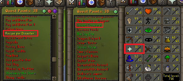 OSRS account special pure combat level 71 ID#20190423TD71B