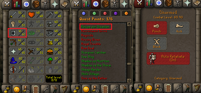 OSRS account Combat Level 60 ID#20200927TD60D best sale