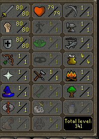 OSRS account combat level 92 ID#ACC808080NONMZ best sale