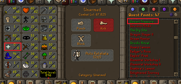 OSRS account special pure combat level 67 ID#20210330MM67C