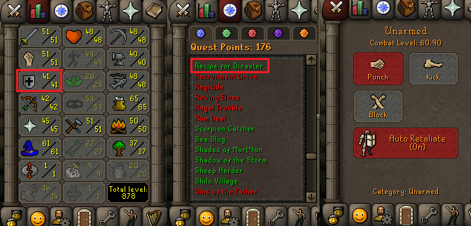 OSRS account Combat Level 60 ID#20200927TD60A best sale