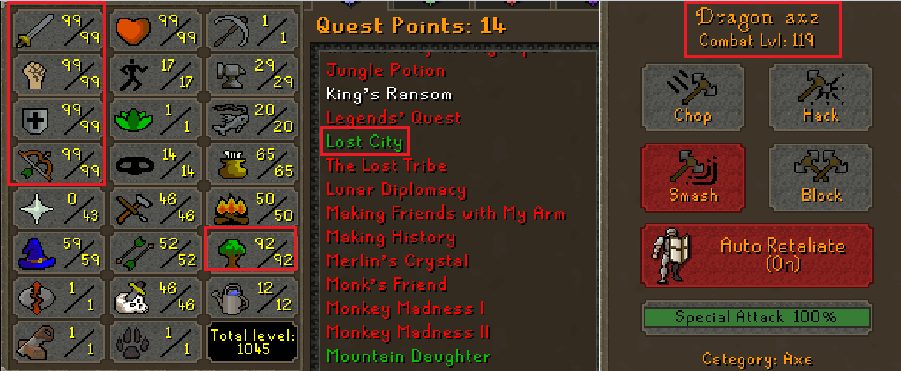 OSRS Account Combat Level 119  ID#20200128SB119