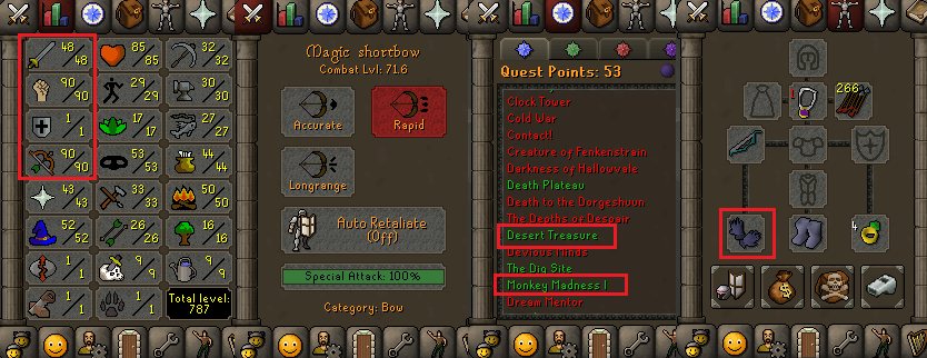 Buy & Sell Runescape Accounts 07,Cheap OSRS Accounts