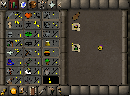 OSRS account combat level 86 ID#20190922SB86