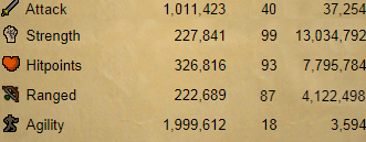 OSRS account combat level 67 ID#20200102TD67
