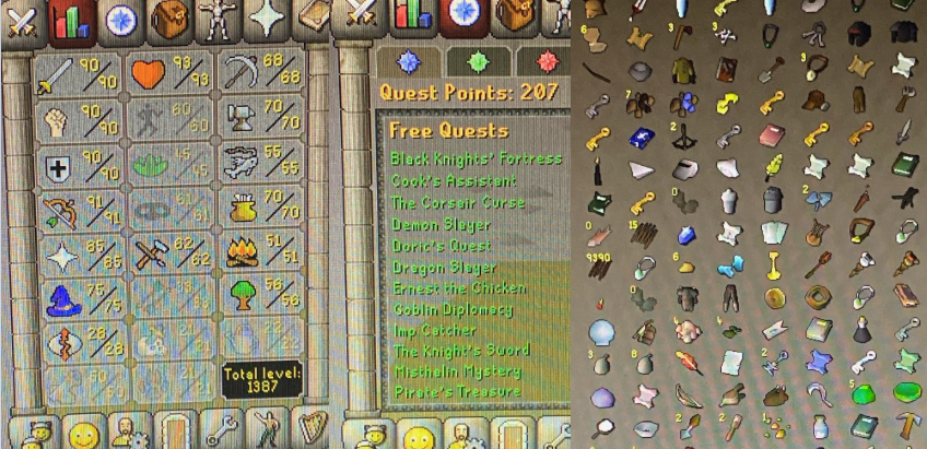 OSRS account combat level 114 ID#20200209SB114