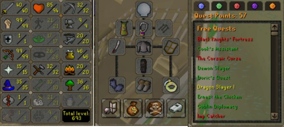OSRS account combat level 73 ID#20210506SB73