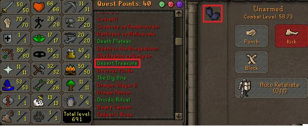OSRS Account special pure Combat Level 58 ID#20181106CKJ58A