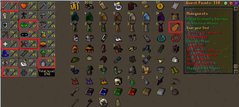 Osrs Account Combat Level 67 Id 20180901lw67 A guide to questing in oldschool version of runescape. osrs account combat level 67 id