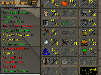 OSRS best sale account Combat Level 65 ID#20190306TD65A