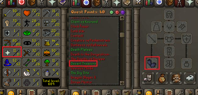 OSRS account special pure combat level 58 ID#20181226CKJ58
