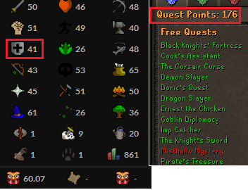 OSRS account Combat Level 60 ID#20200724TD60A3 best sale