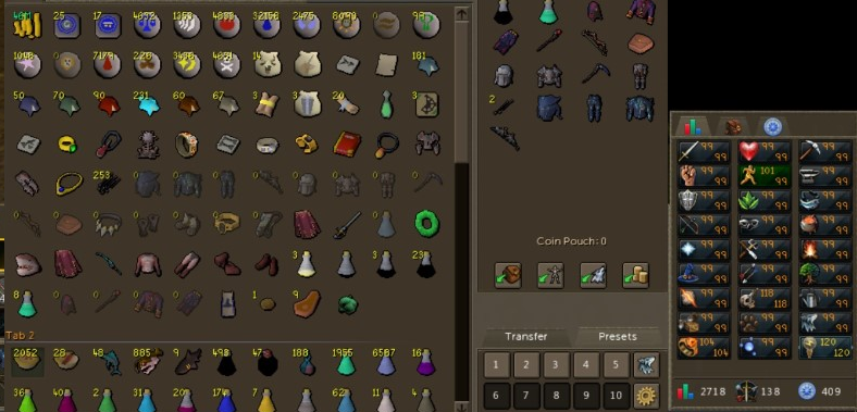 Runescape 3 Account Combat Level 138 ID#20191001LW138
