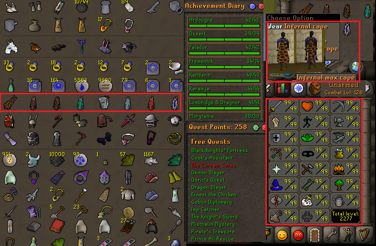 Osrs Greatest Account Combat Level 126 Id 20180507lwsb126 Been more than a week on osrs and most my stats are only 40+, let. osrs greatest account combat level 126