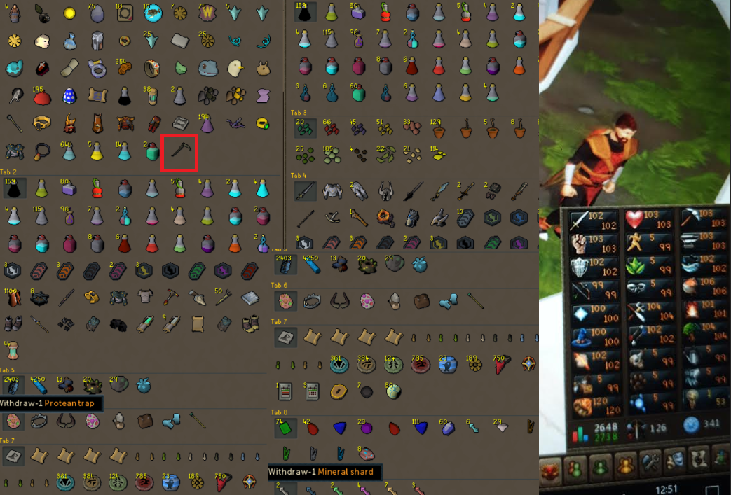 RS 3 Account Combat Level 126 ID# 20190508SB126