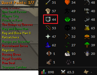 OSRS account Combat Level 65 ID#20190421TD65A best sale
