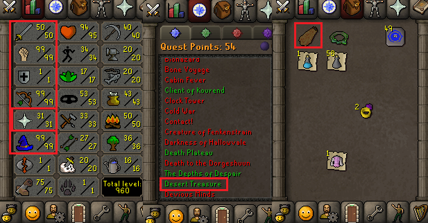 OSRS special pure account combat level 76 ID#20190428SB76