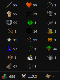 OSRS account Combat Level 115 ID#20190715TD115A
