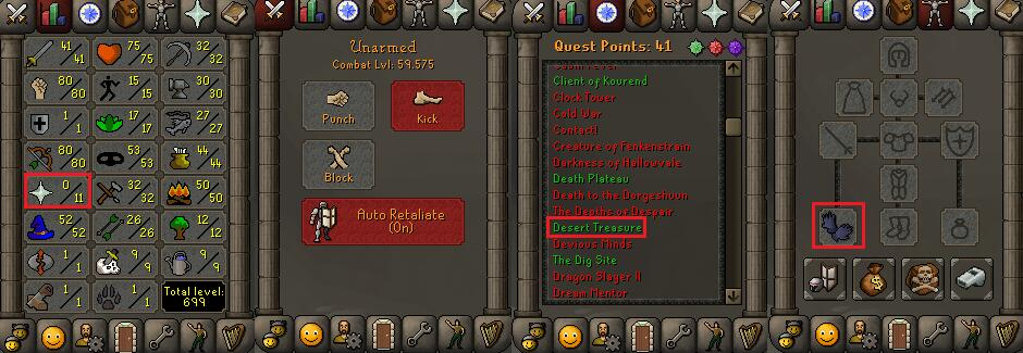 OSRS account special pure combat level 59 ID#20181106CKJ59