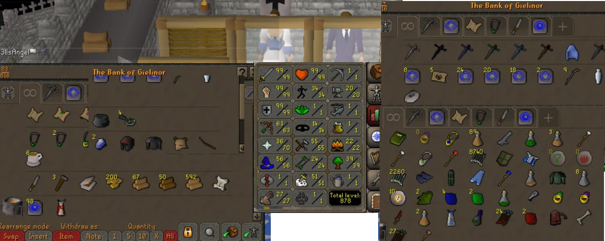OSRS account combat level 119 ID# 20200914SB119