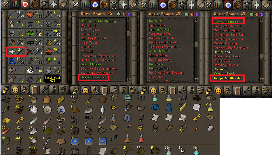 OSRS account special pure combat level 55 ID#20181110CKJ55