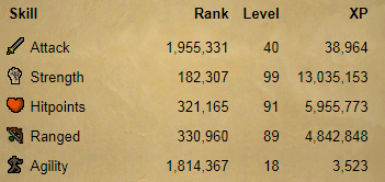 OSRS account combat level 67 ID#20190421TD67B