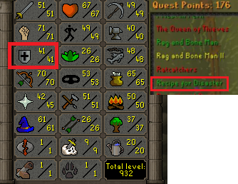 OSRS account Combat Level 72 ID#20190809TD72C best sale