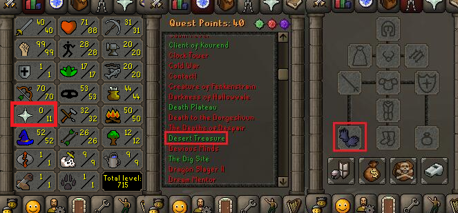 OSRS account special pure combat level 68 ID#20181230TD68C