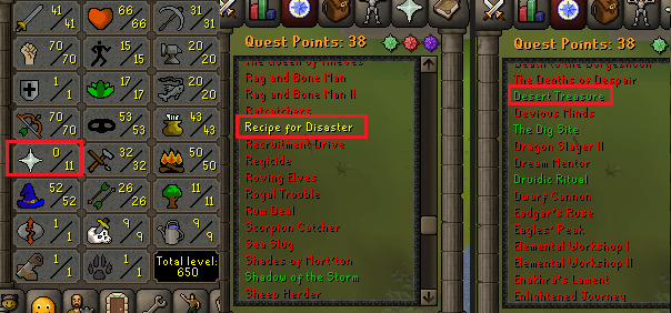 OSRS account special pure combat level 54 ID#20190613CKJ54A