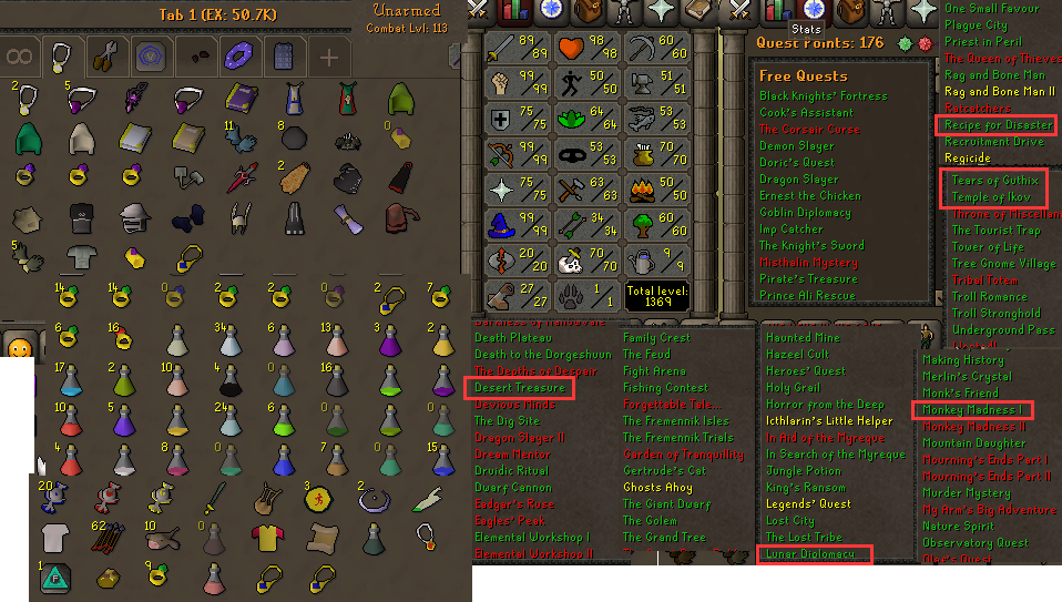 how to train combat osrs